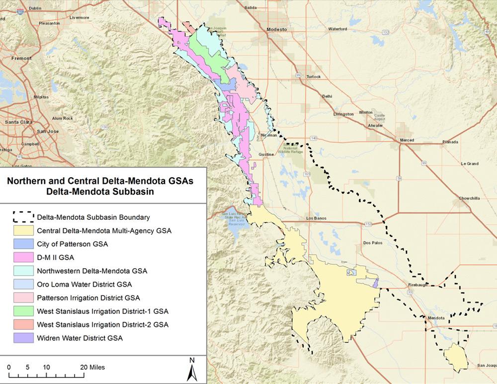 GSAs in Region